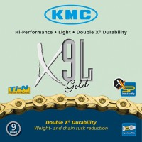 CHAINE 9 vitesses KMC X9L